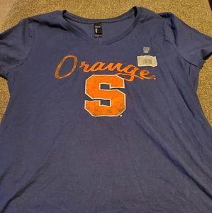 Womens Syracuse orange tshirt